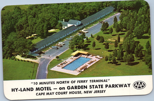 Hy-Land Motel Cape May New Jersey