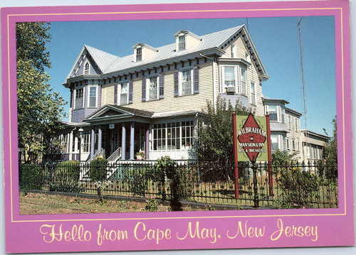 Wilbraham Mansion and Inn Cape May NJ
