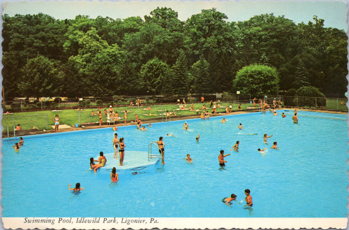 people swimming at Idlewild Park