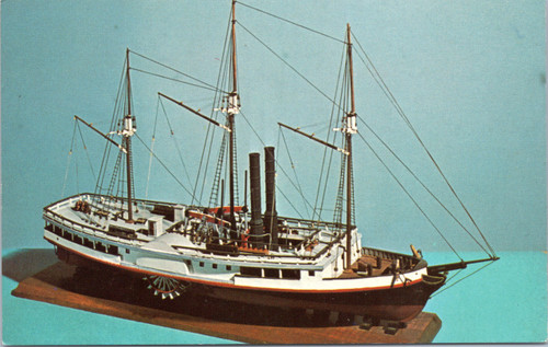 Model of the Steamboat Michigan