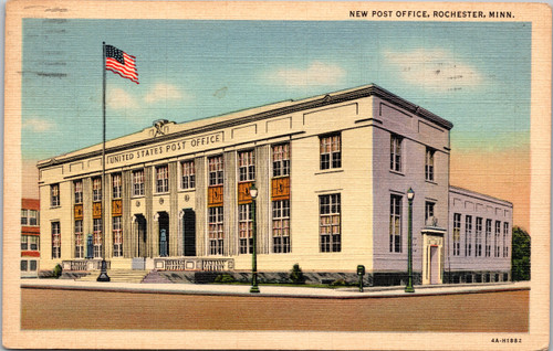 Post Office Rochester Minnesota