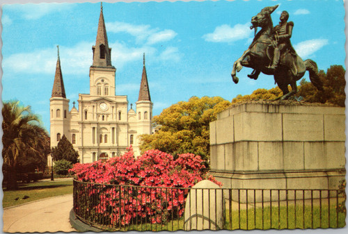 St. Louis Cathedral and Jackson Monument
