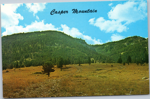 Casper Mountain, Wyoming