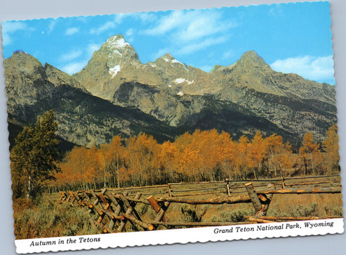 Autumn in Tetons