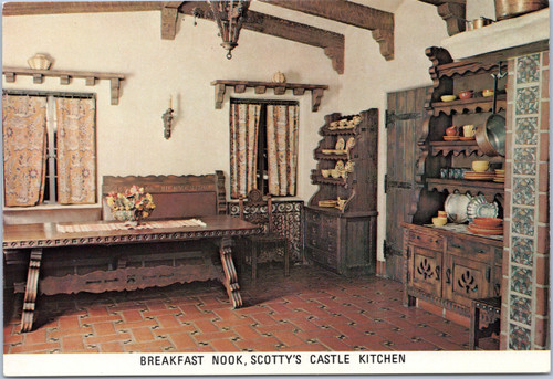 Scotty's Castle Breakfast nook
