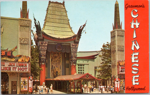 Chinese theatre Hollywood Some like it hot