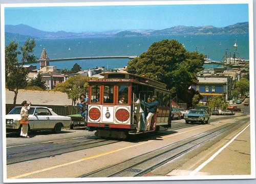 San Francisco Cable Cars Trolley Tram
