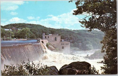 St. Croix River Power House and Dam