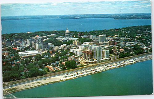 Aerial of Madison Wisconsin