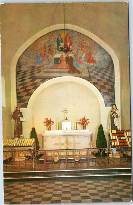 St. Francis Monastery - Inside of the Portiuncula Chapel