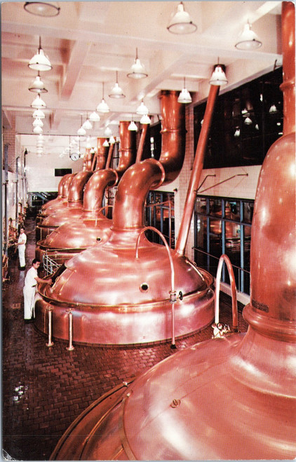 Miller Brewing Company High Life brewhouse kettles