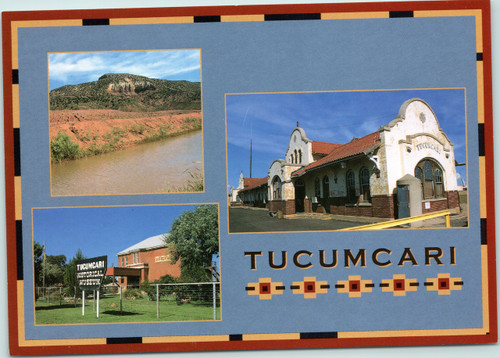 Tucumcari, New Mexico multi-view postcard