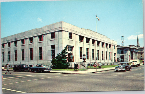 1950s Manchester New Hampshire Post Office