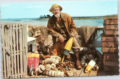 Old Lobster Fisherman