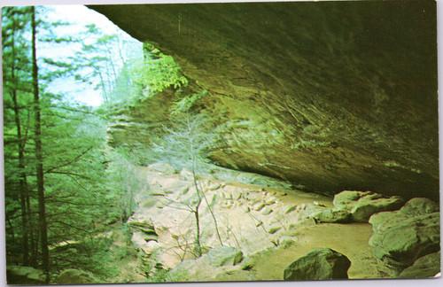 Old Man's Cave in Ohio