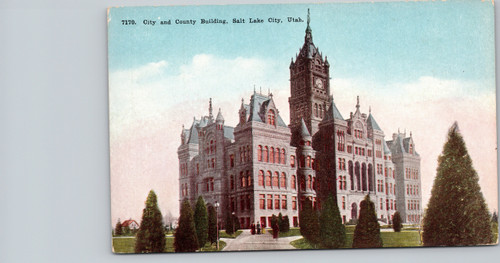 City and County Building, Salt Lake City