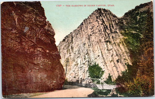 The Narrows in Ogden Canyon