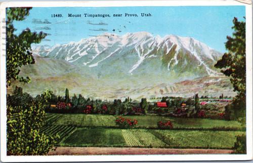 Mount Timpanogos near Provo, Utah