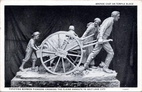 Monument to Mormon Pioneers