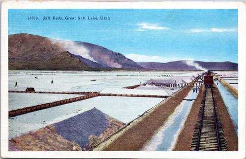 Salt Beds, Great Salt Lake, Utah
