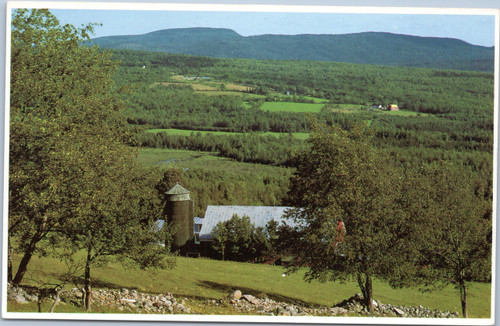 Farm Lands, Northern Maine, Aroostook County.