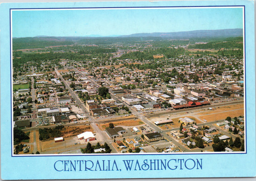 Centralia, Washington aerial