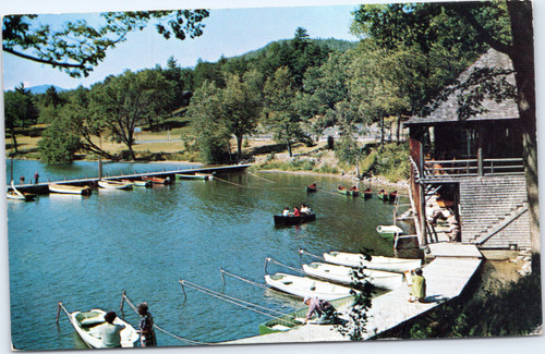 Silver Bay, New York - Lake George Boat Dock and House