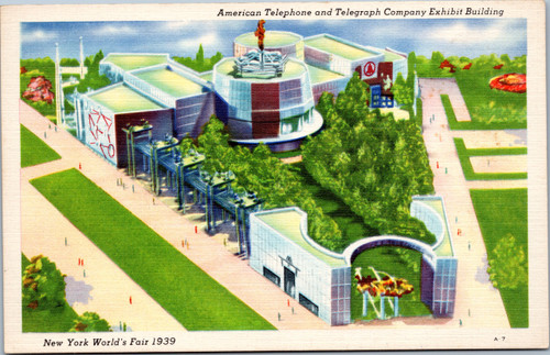 Exhibit Building 1939 World's Fair NY