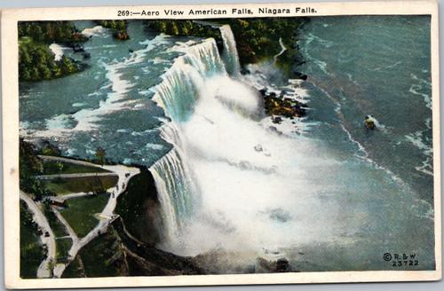 American Falls, Niagara Falls - Aero View