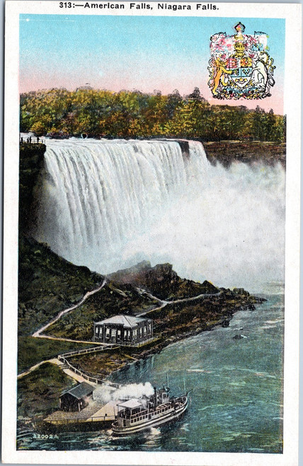 American Falls from Goat Isle