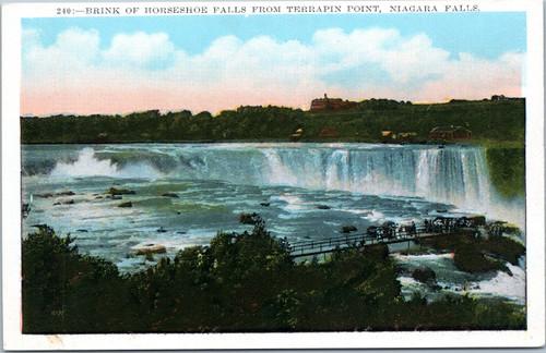 Horseshoe Falls from Terrapin Point