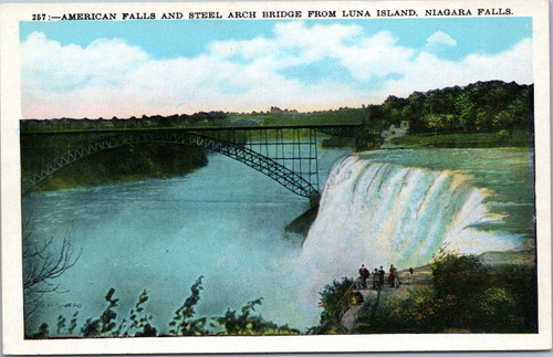 American Falls and Steel Arch Bridge