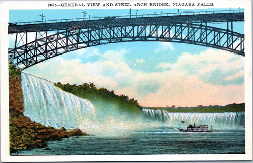 General View and Steel Arch Bridge