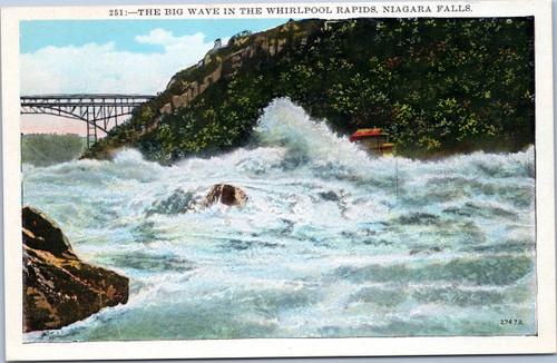 The Big Wave in theWhirlpool Rapids, Niagara Falls