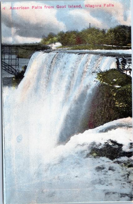 American Falls from Goat Island