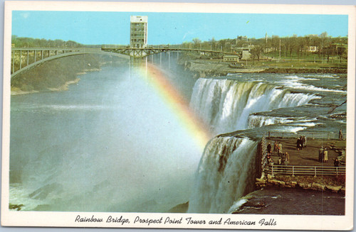 Rainbow Bridge, Prospect Point Tower and American Falls