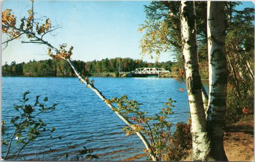 Fish Creek Pond and Highway Bridge