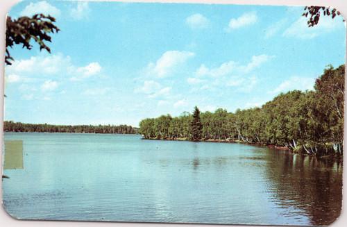 Fish Creek Pond at Adirondack campsite