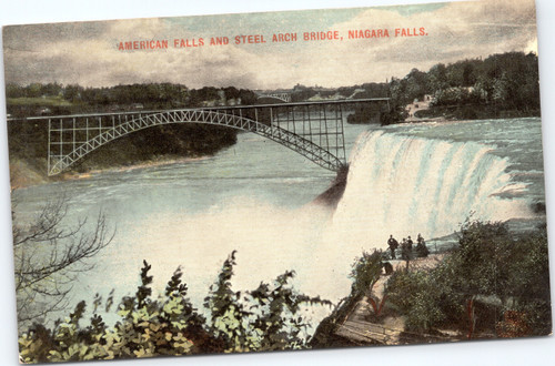American Falls and Steel Arch Bridge, Niagara Falls