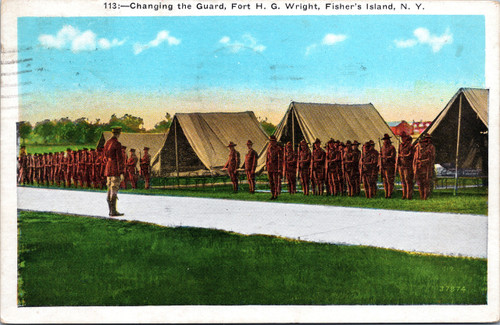 Changing the Guard, Fort H. G. Wright
