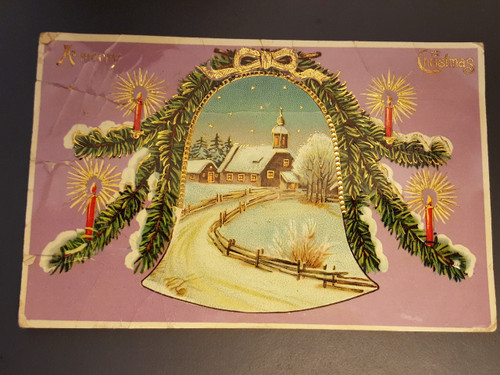 Christmas greetings - bell
