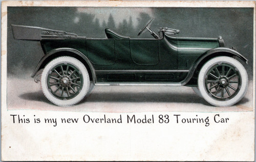 Overland Model 83 Touring Car