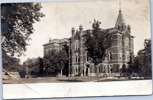 Central School, Harlan Iowa circa 1908