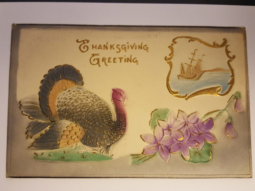 Thanksgiving postcard from 1911