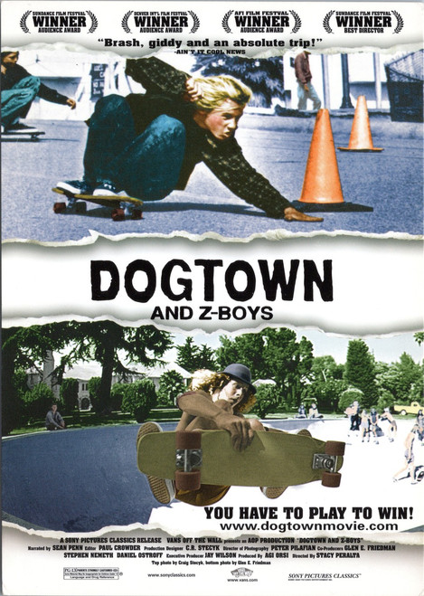 Dogtown and Z-Boys - Sports Documentary Advertising postcard
