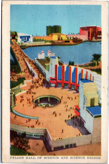 1933 Chicago Worlds Fair Plyons Hall of Science