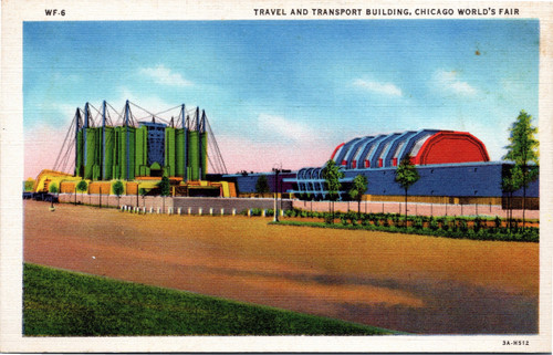 1933 Chicago World's Fair Travel and Transport Building