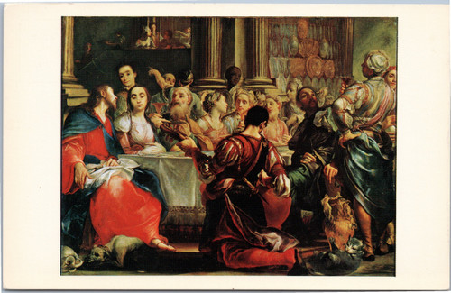 Marriage at Cana by Giuseppe Maria Crespi