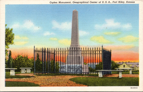 Ogden Monument, Geographical Center of USA