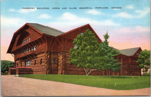 Forestry Building, Lewis and Clark Memorial,